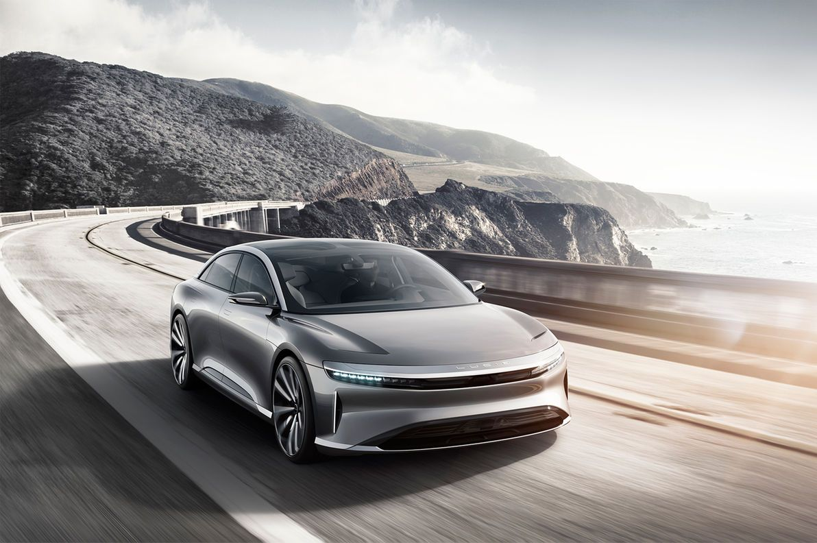 Faraday Future Ff 91 Lucid Air First Rides Nya Bilar Elbilar Bilar