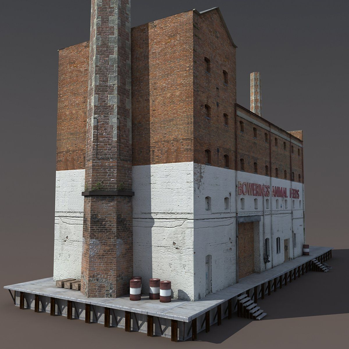Scale Model Architecture, Factory