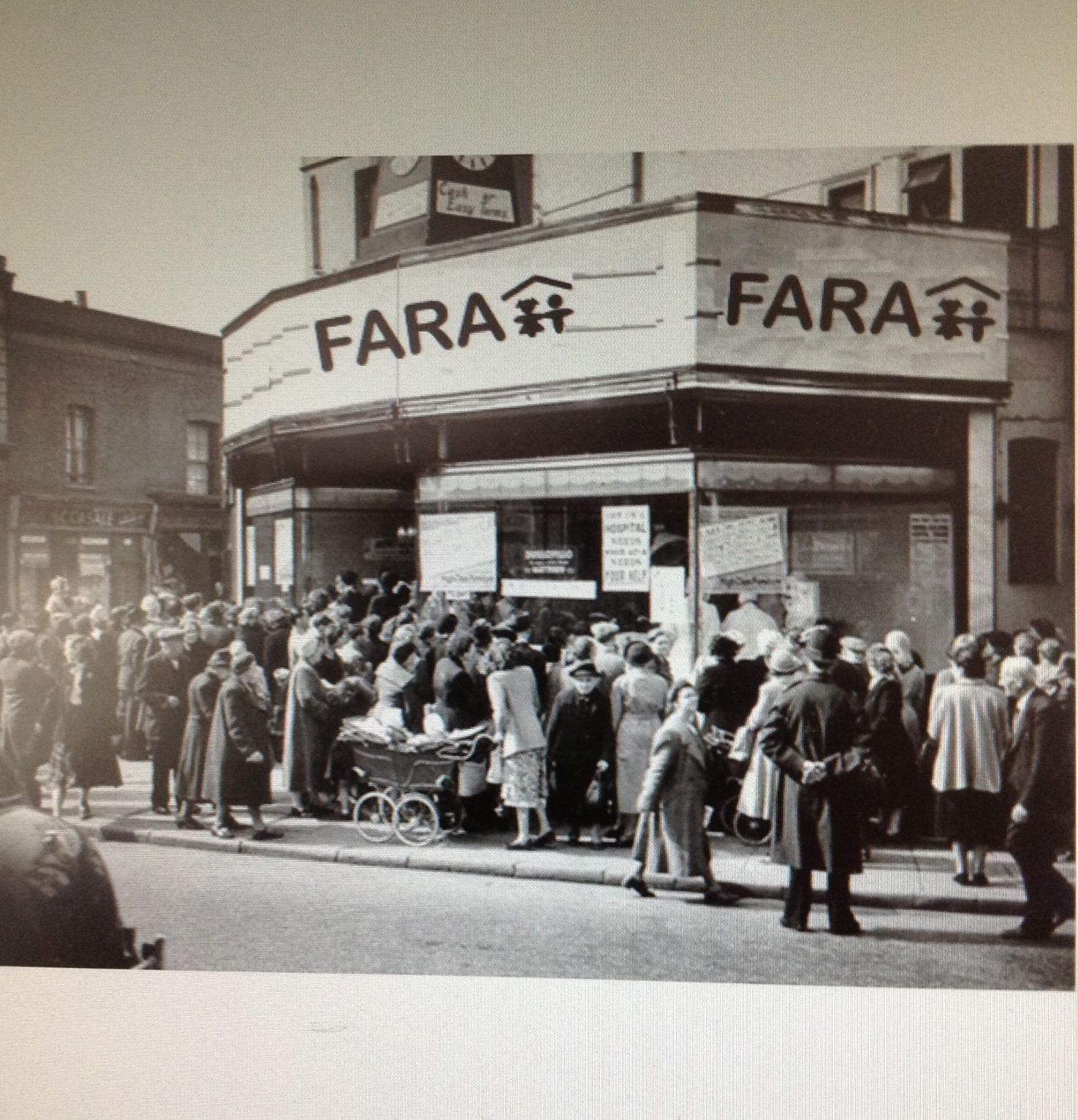 Don't all rush at once - there are 50 FARA shops across London to visit