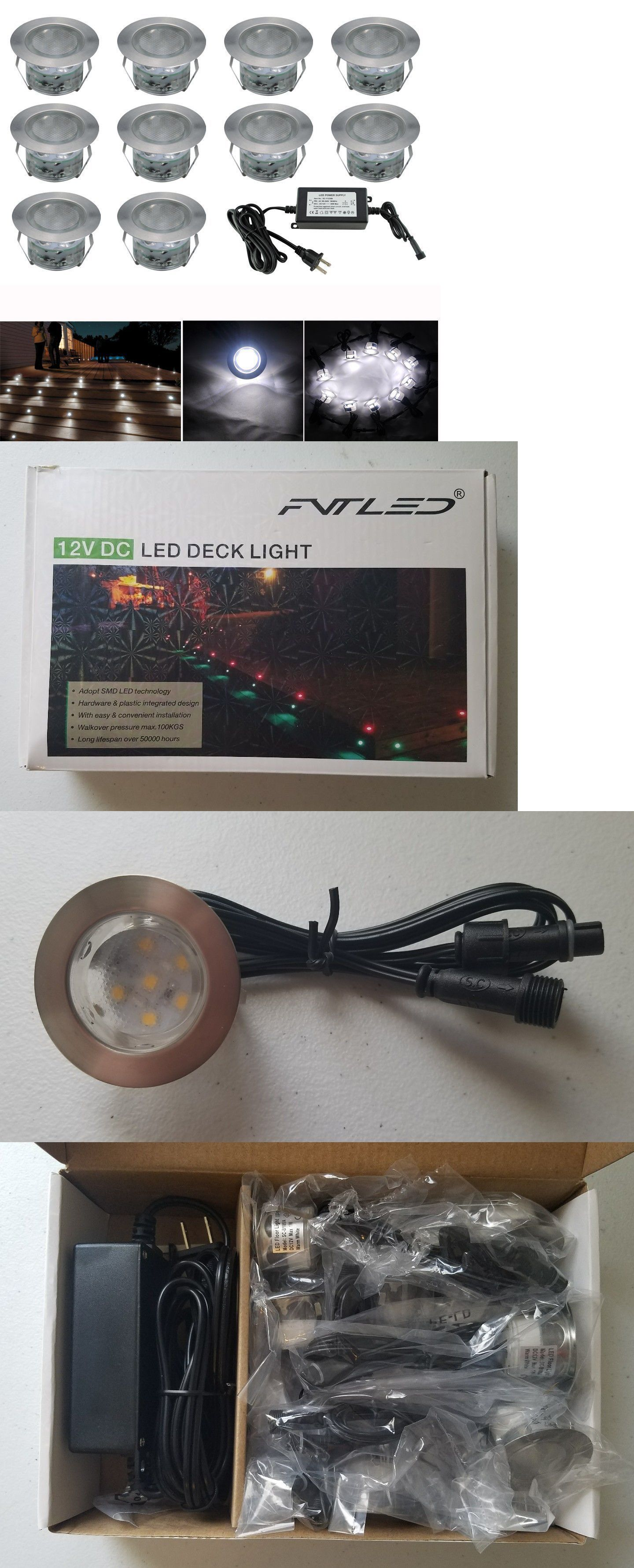 low voltage interior lighting kits%0A Other Outdoor Lighting        Fvtled Low Voltage Led Deck Lighting Kit   Pack Of