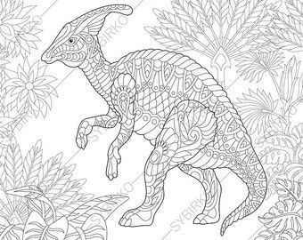 Pterodactyl Dinosaur Pterosaur Dino Coloring Pages Animal