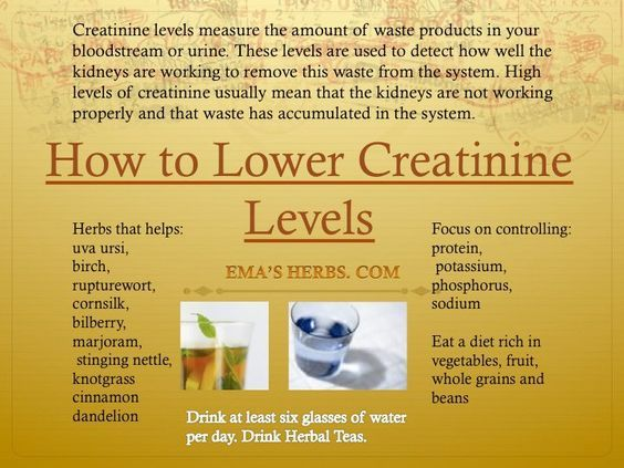 How To Lower Creatinine Levels Nursing Pinterest