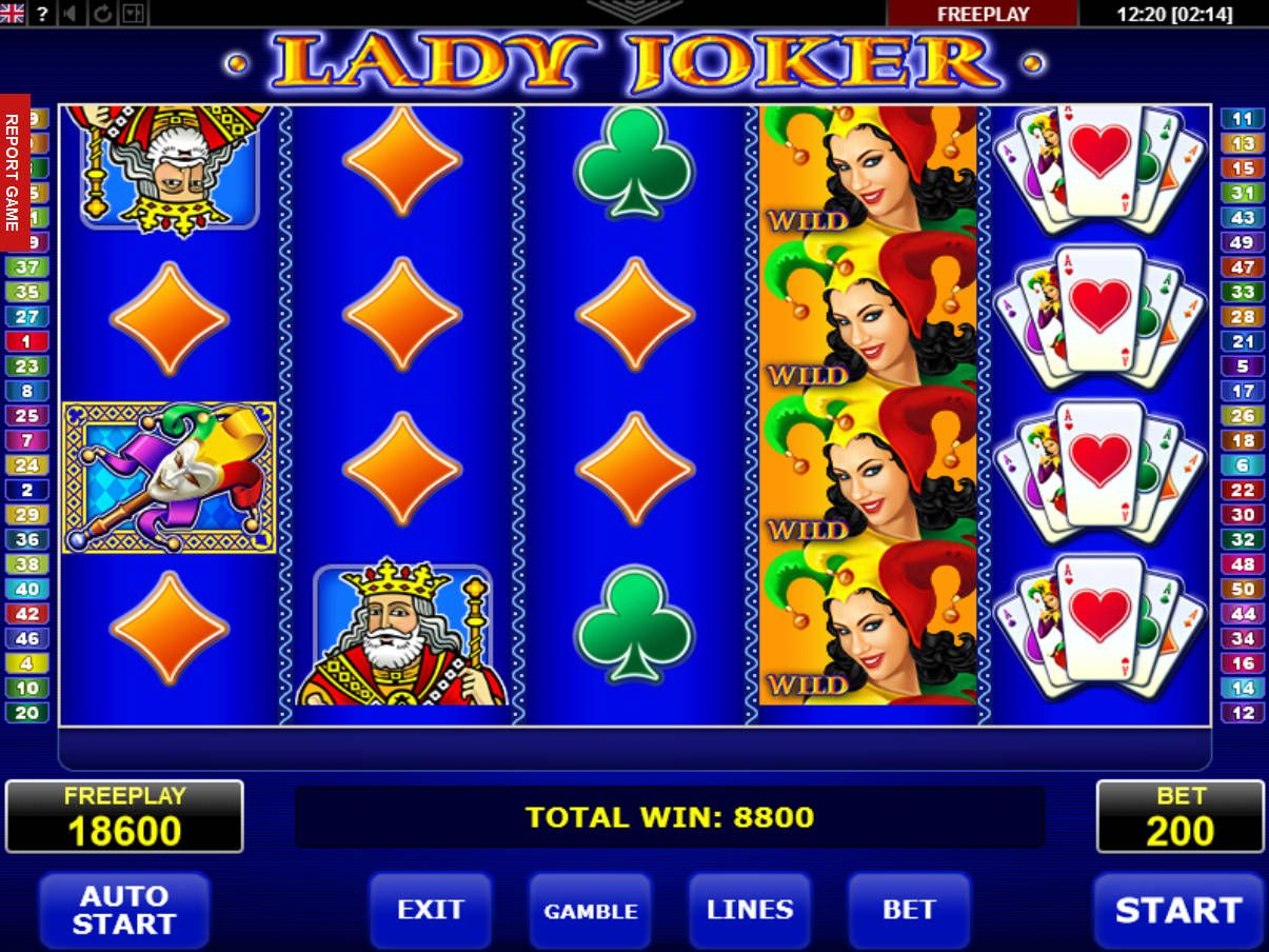 ᐈ Lady Joker ™ Spielautomat Kostenlos Online Casino Spiel