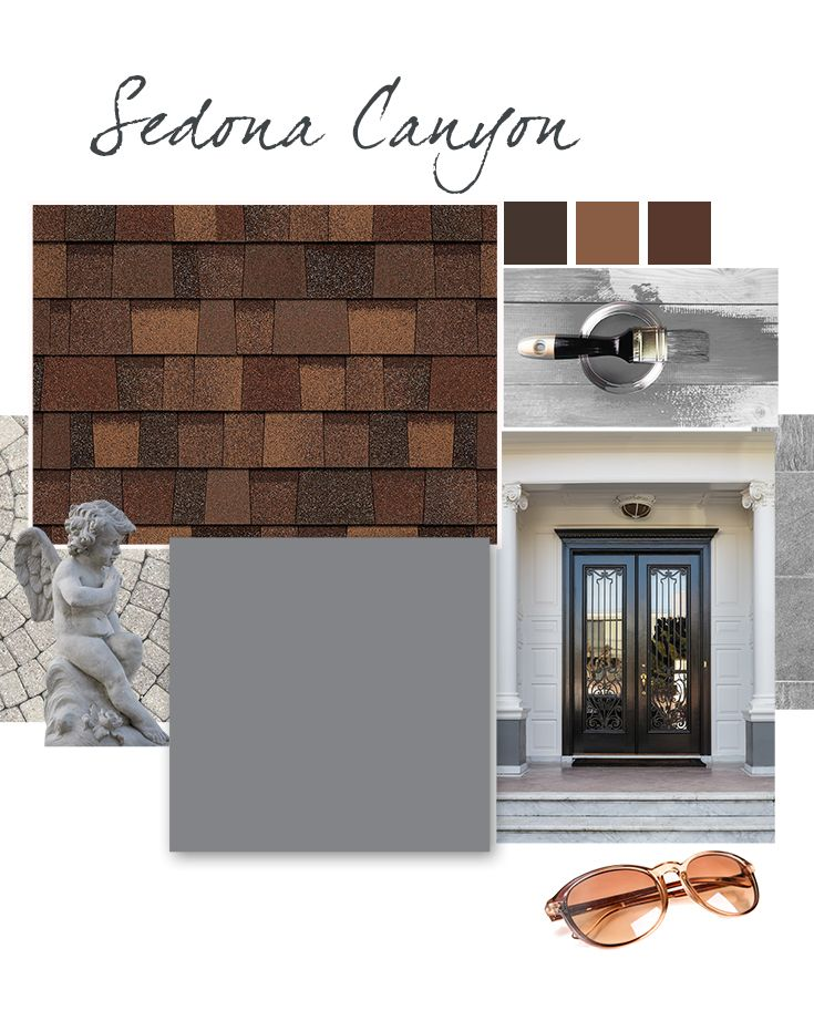 Owens Corning TruDefinition® Duration® Designer Series Shingles In Sedona  Canyon