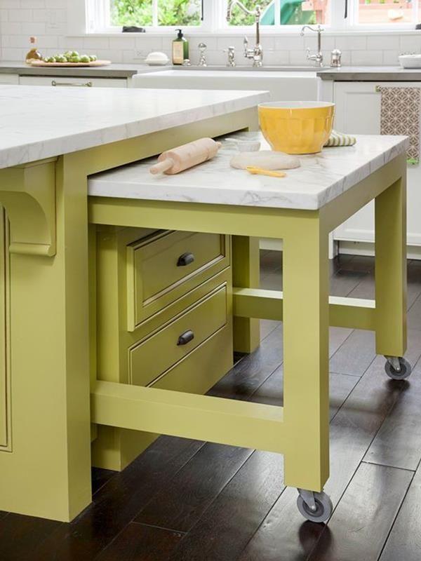 kleine-küche-einrichten-wohnideen-kücheneinrichtung | home.kitchen, Hause ideen
