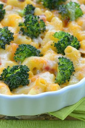 Photo of Pasta bake with broccoli and ham
