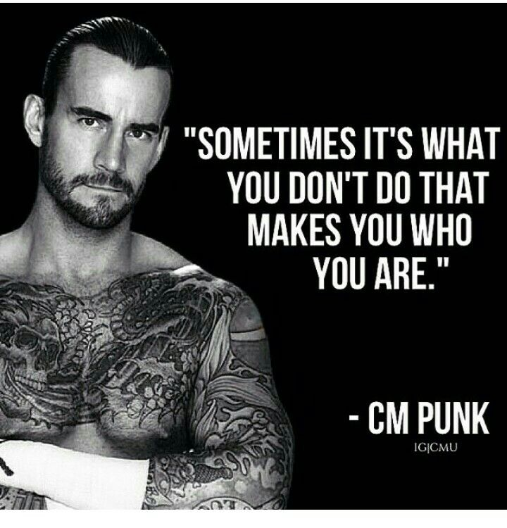 Wordsey make us who we are just inspiring to me pinterest from the team of nexus to wwe champion what a journey by cm punk voltagebd Images