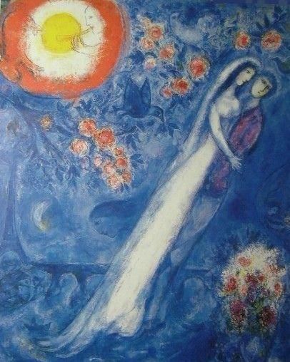 Marc Chagall Wedding Marc Chagall Chagall Paintings Artist