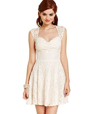 Confirmation Dress Urban Hearts Juniors Dress Sleeveless Lace ...