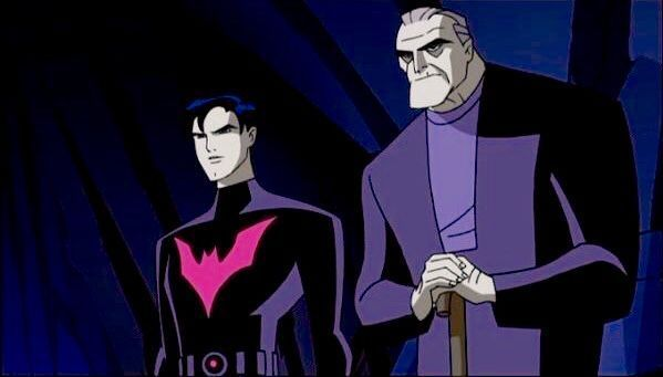 Terry McGinnis and Bruce Wayne