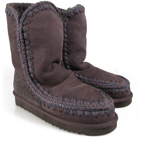 Mou Medium Eskimo Boots ($270) via Polyvore