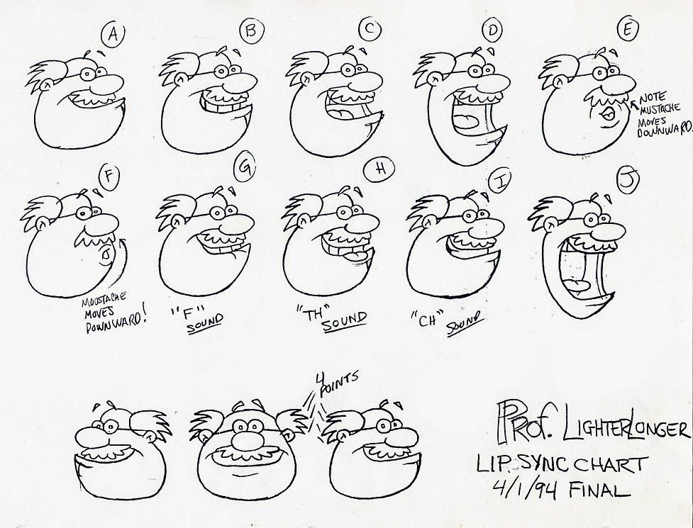 mouth chart for toon boom