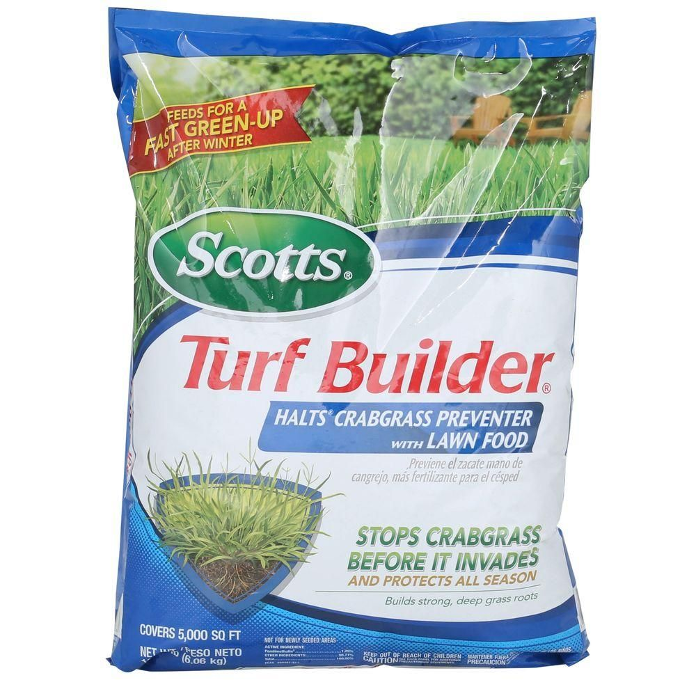 Scotts Turf Builder 13.58 lb. 5,000 sq. ft. Halts