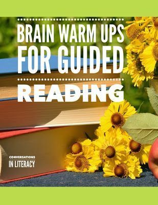 Tips for Brain Warm Up Activities for Guided Reading Time