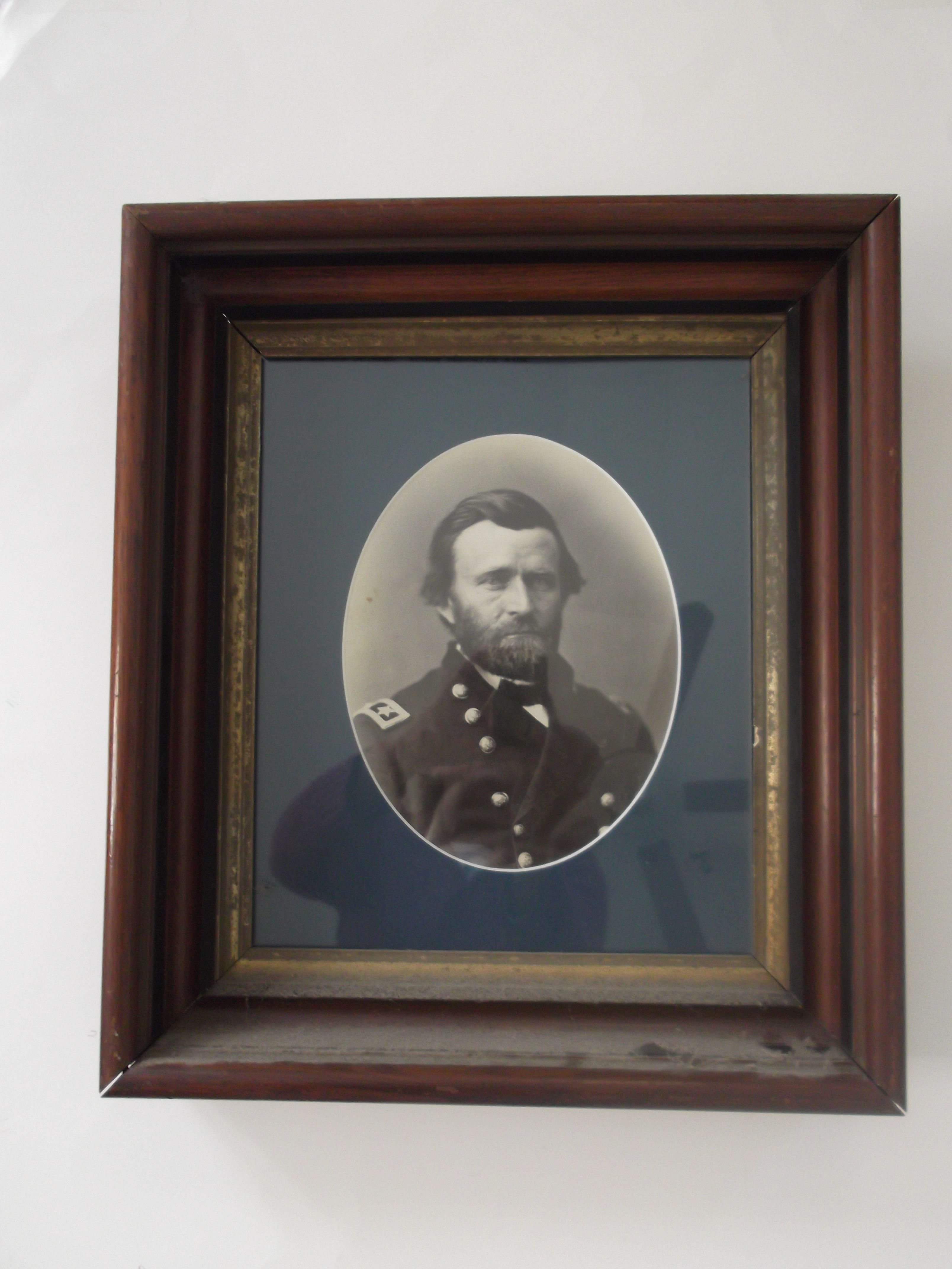 A print of Ulysses S. Grant  from my late husband's collection.