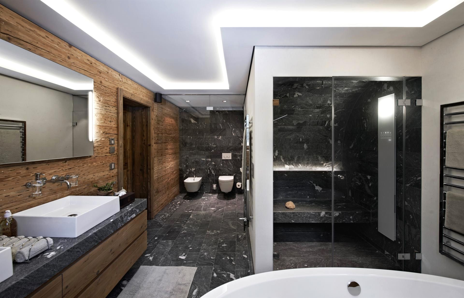 Modernes Badezimmer Grau Moderne Deko Ideen