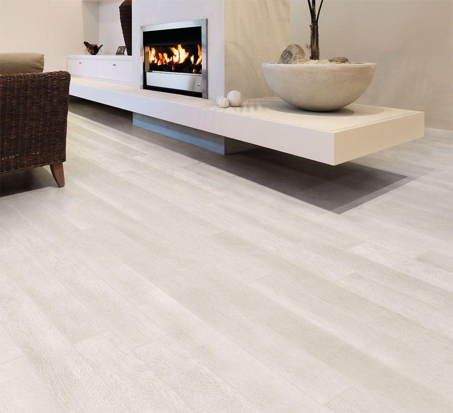 Ariostea rovere bianco legni high tech design nel for Tavole adesive 3d