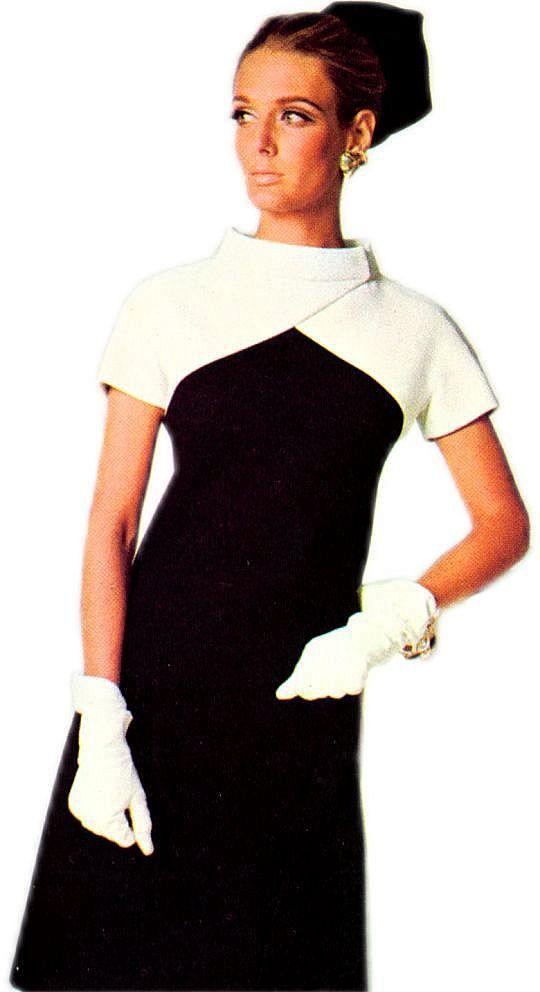 1966 Galitzine Jacket-Plus-Dress Look