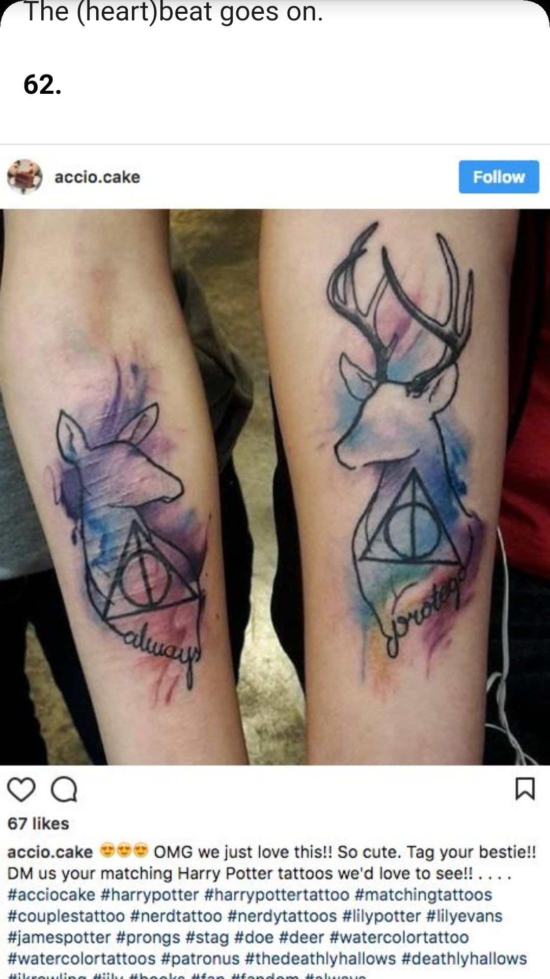 Epingle Par Cinereplicas Sur Harry Potter Tattoo Tatouage
