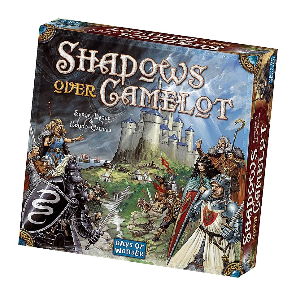 Days Of Wonder Shadows Over Camelot Strategy Game