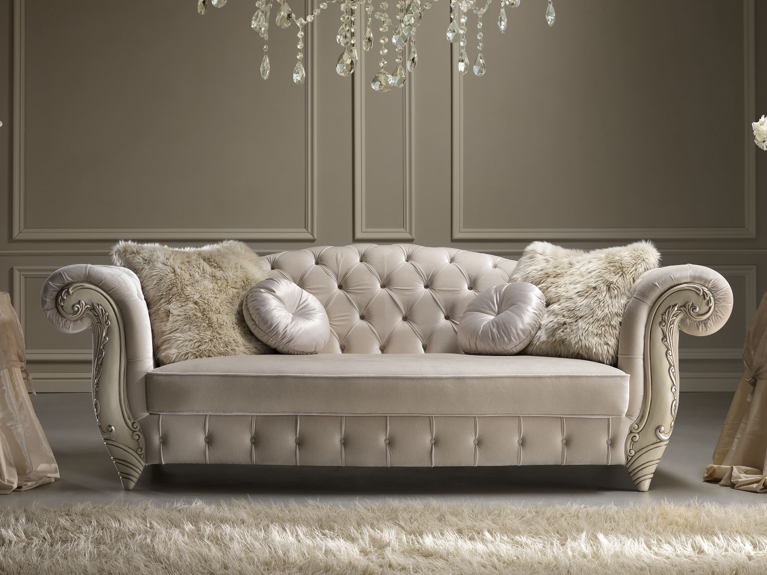Download The Catalogue And Request Prices Of Romantic Sofa By Gold Confort Tufted Fabric Sofa Romantic Classic Sofa Designs Sofa Design Modern Sofa Designs