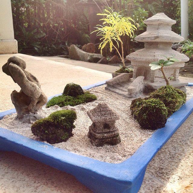 The Temple Of Mini Zen Garden Miniature Zen Garden Mini Zen Garden Zen Garden