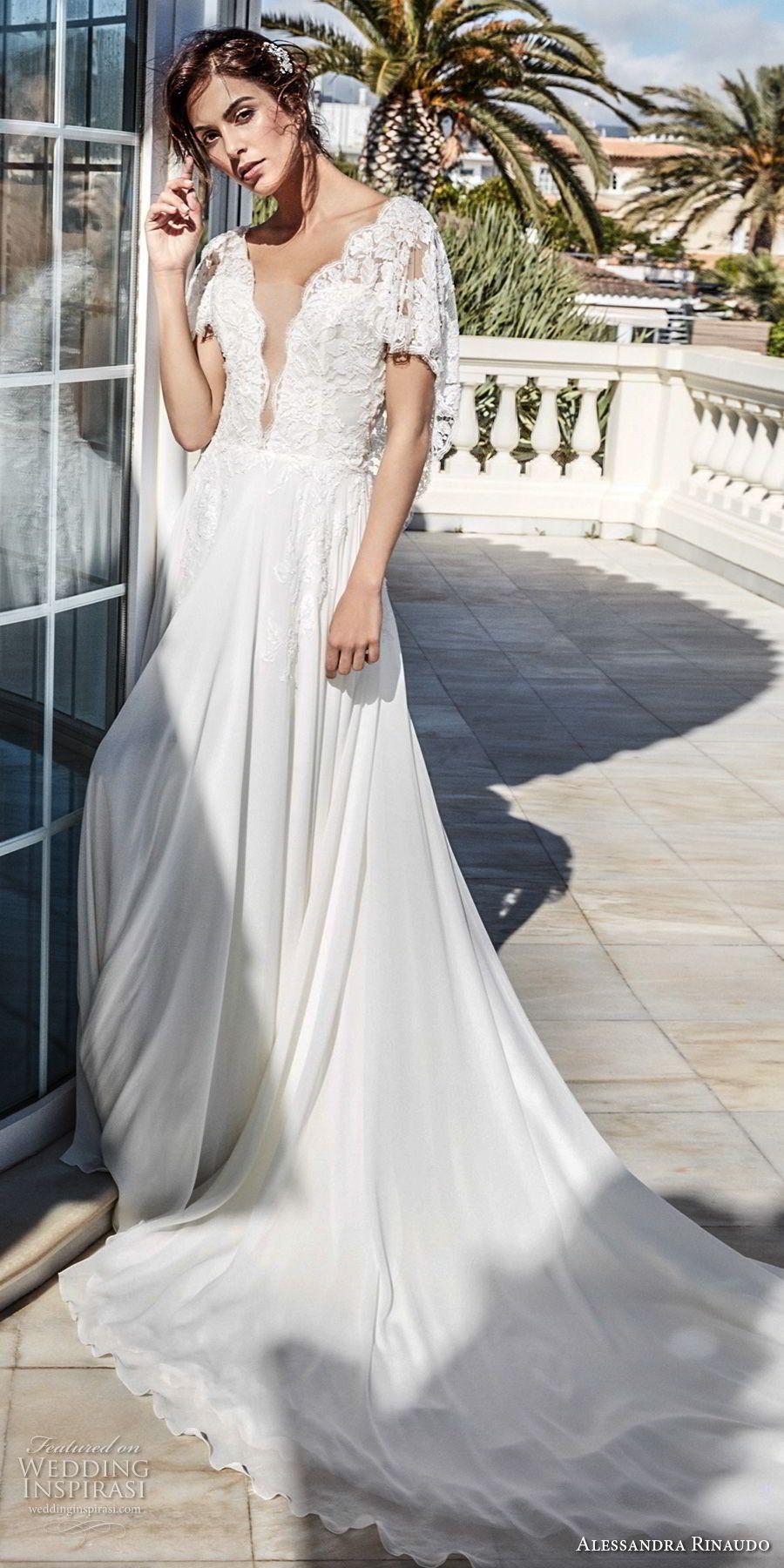 Alessandra rinaudo wedding dresses chapel train wedding