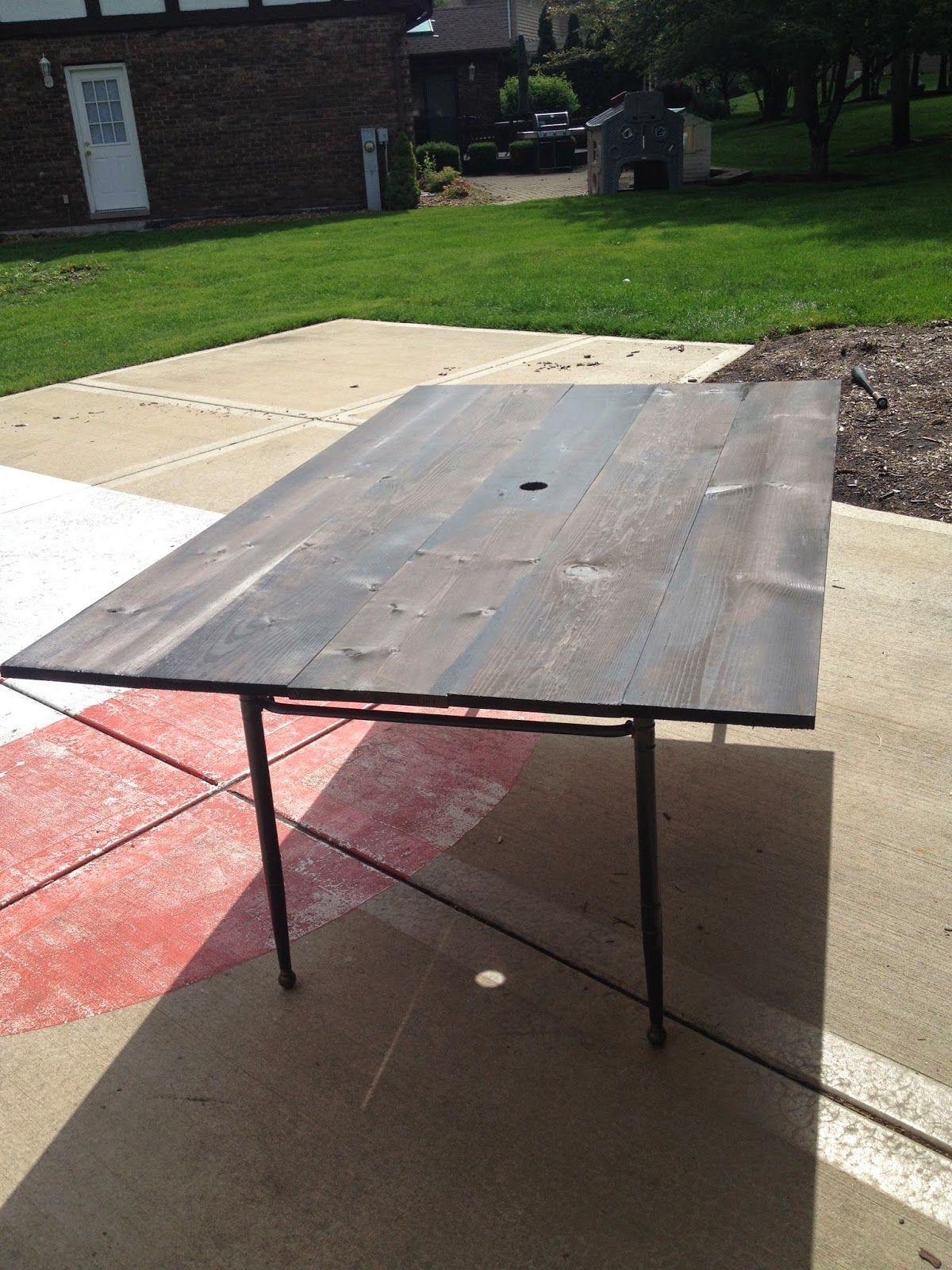 Collected Society Diy Patio Table Patio Table Top Diy Patio