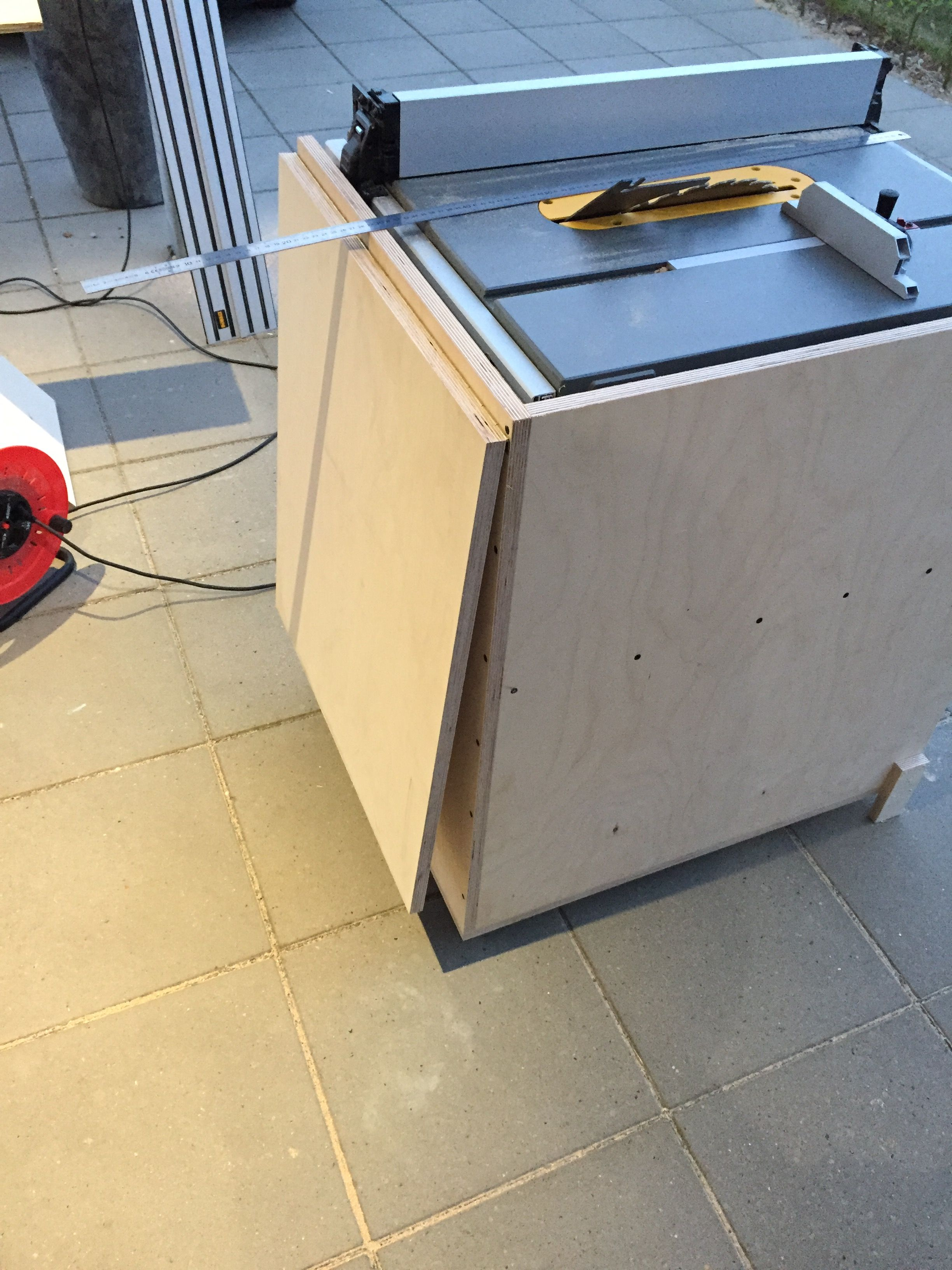 Table Saw Stand Plans Best Tablesaw Diy One Day Workshop