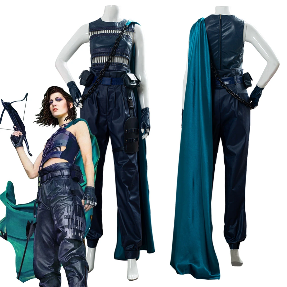 Birds Of Prey Huntress Outfit Cosplay Costume New Cosplaysky In 2020 Huntress Cosplay Cosplay Outfits Halloween Outfits