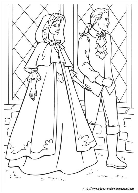 Barbie Princess And Pauper Coloring Pages Educational Fun Kids Coloring Pages And Preschool Ski Barbie Coloring Barbie Coloring Pages Princess Coloring Pages