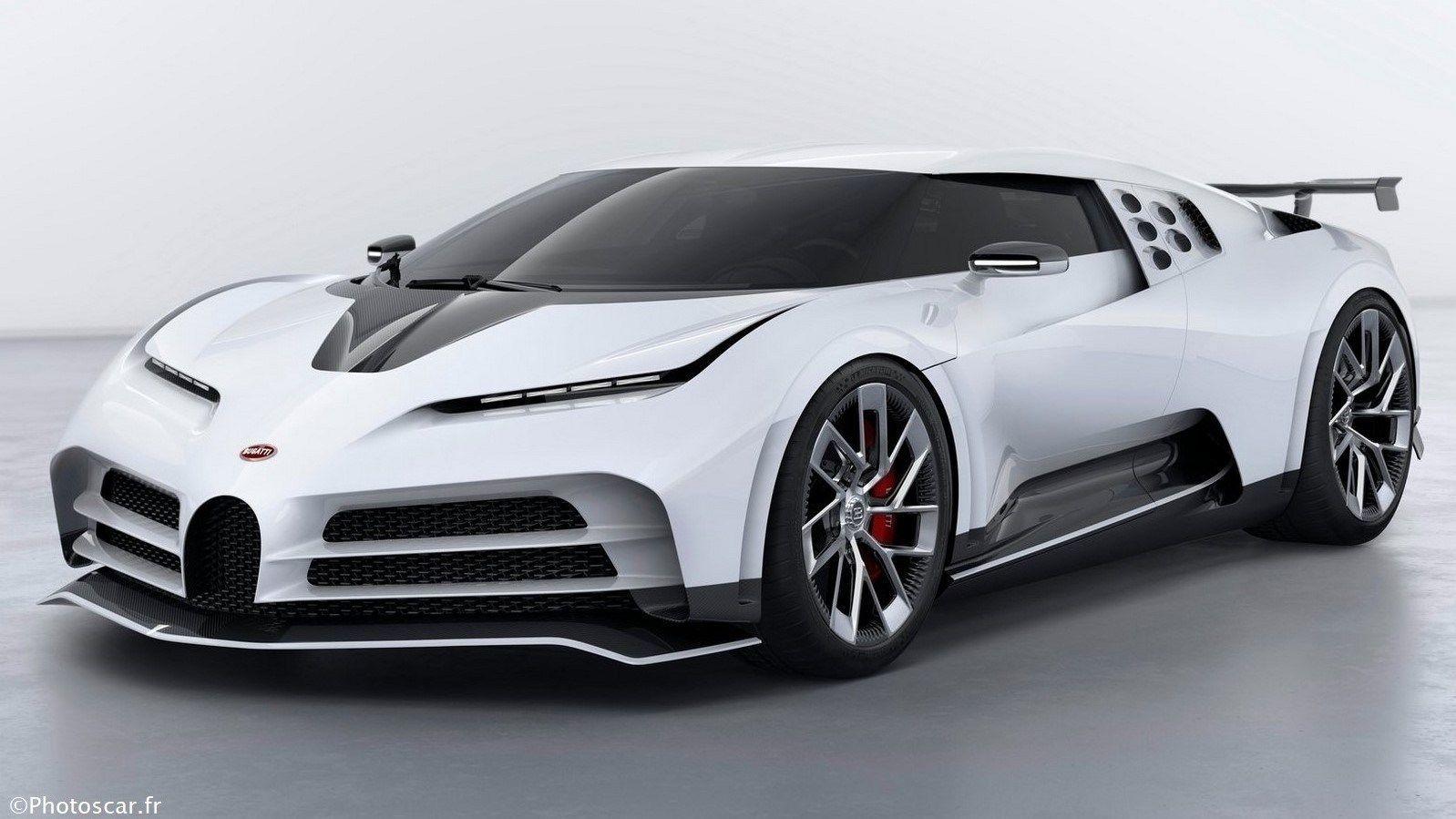 Bugatti Centodieci 2020 dernier modèle à édition limitée