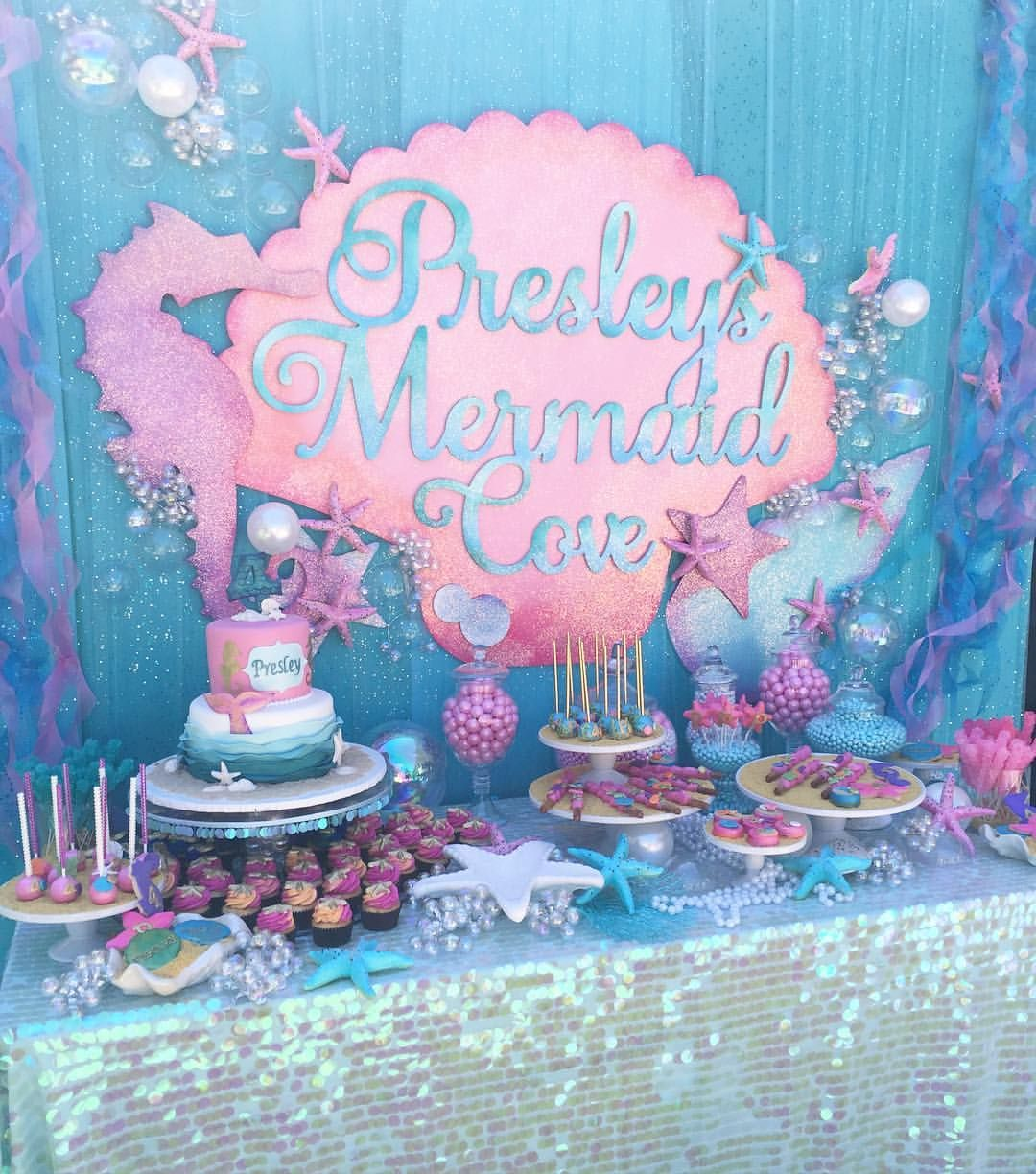 Up Bright And Early For The Most Adorable #mermaid Party