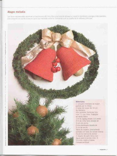 Crochet Navidad Festeja - Tiara liron - Álbumes web de Picasa
