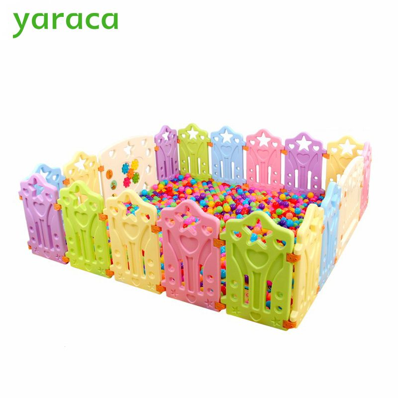 Indoor Baby Playpens Outdoor Games Fencing Children Play Fence Kids Activity Gear Environmental Protection Ep Safety Play Yar Baby Playpen Kids Playing Playpen