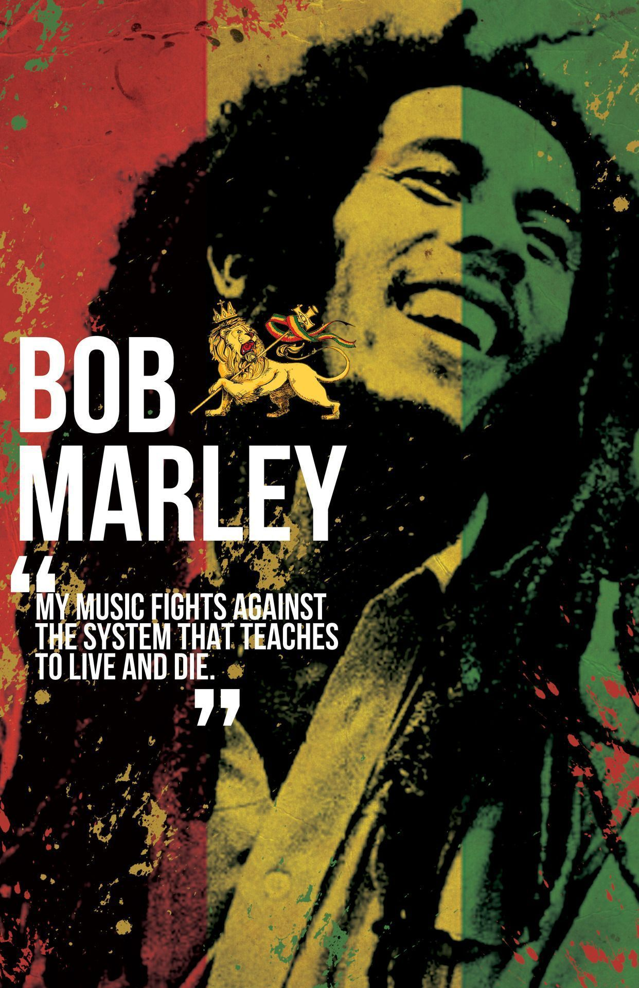 Bob Marley HD Wallpapers Wallpaper Bob marley art, Bob