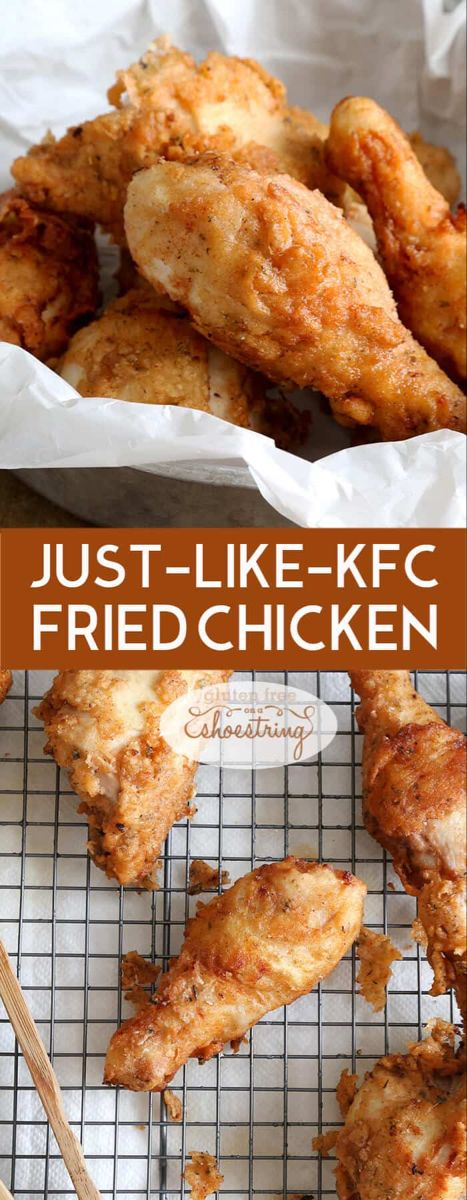 Gluten Free Fried Chicken KFC-Style | Great gluten free recipes for every occasion.