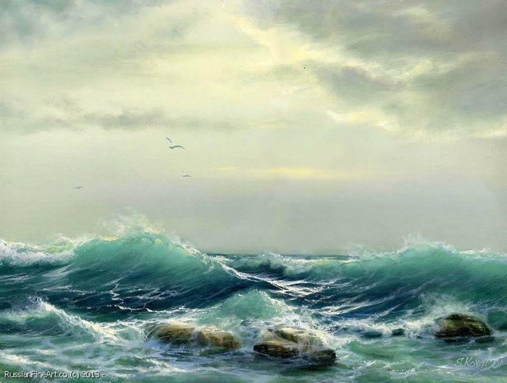 Sergey Lim Art חיפוש ב Google Peinture Mer Paysage Marin Mer
