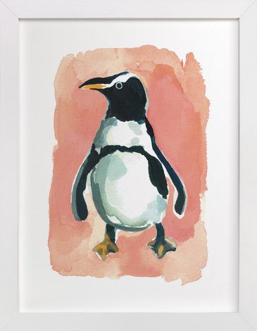Penguin by Betty Hatchett at minted.com