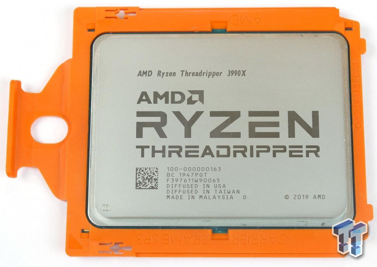 Amd Ryzen Threadripper 3990x Zen 2 Processor Review In 2020 Amd Processor Zen
