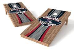 Houston Texans Single Cornhole Board - Wood