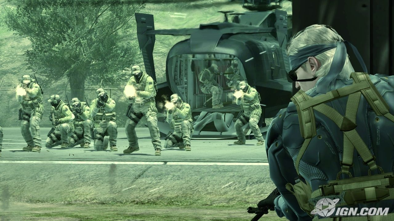 Metal gear solid 4 database youtube.