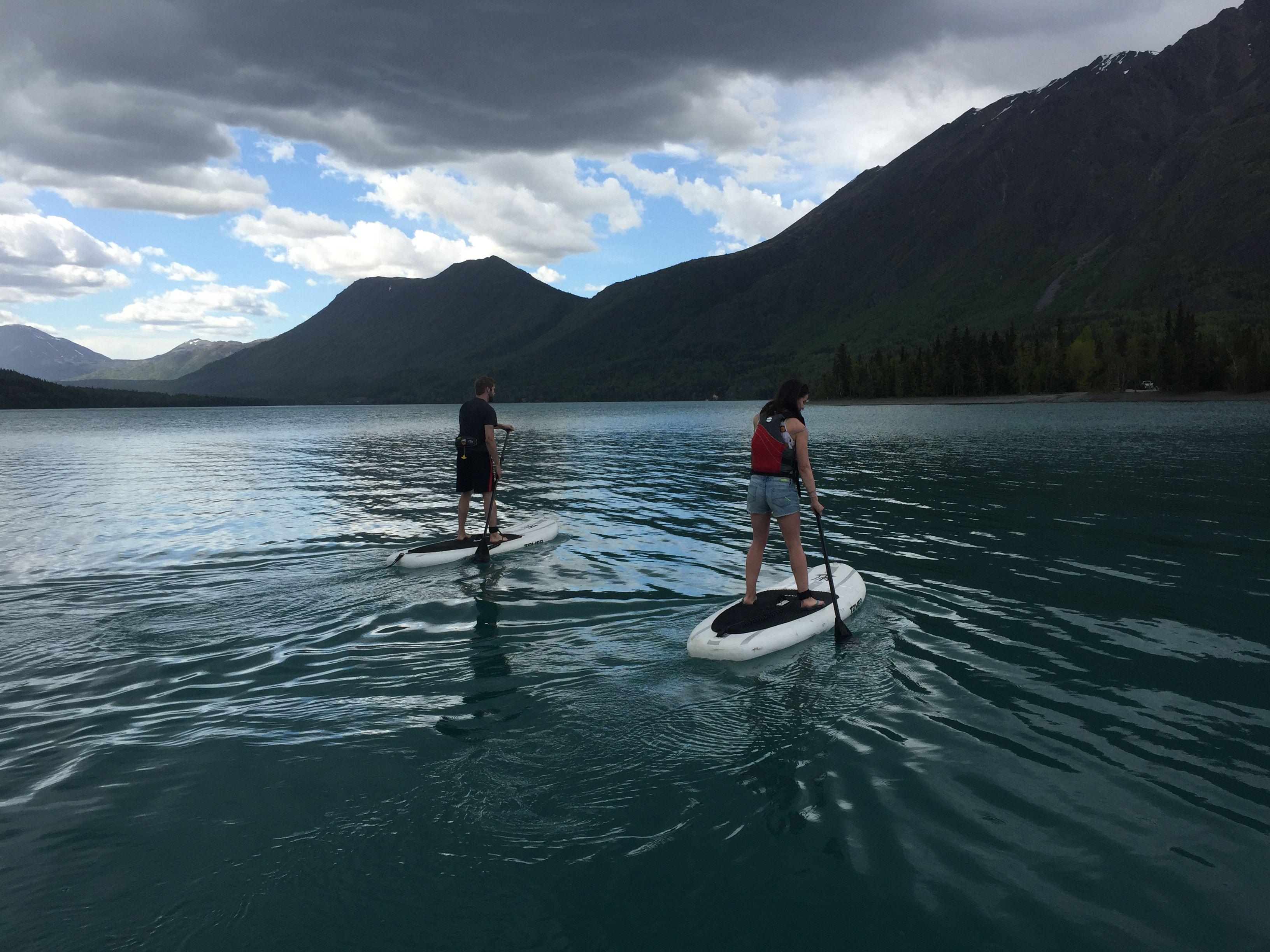 c561b780c Mountains · Kenai Lake from Quartz Creek Boat Launch area. Alaska Young