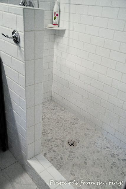 Pin By Maggie Ruel On Bath Pebble Shower Floor Pebble