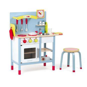 Caracteristiques Machine A Expresso Picnik 16 Accessoires Dimensions 72 X 30 5 X 82 Cuisine En Bois Jouet Cuisine En Bois Enfant Cuisine Bois