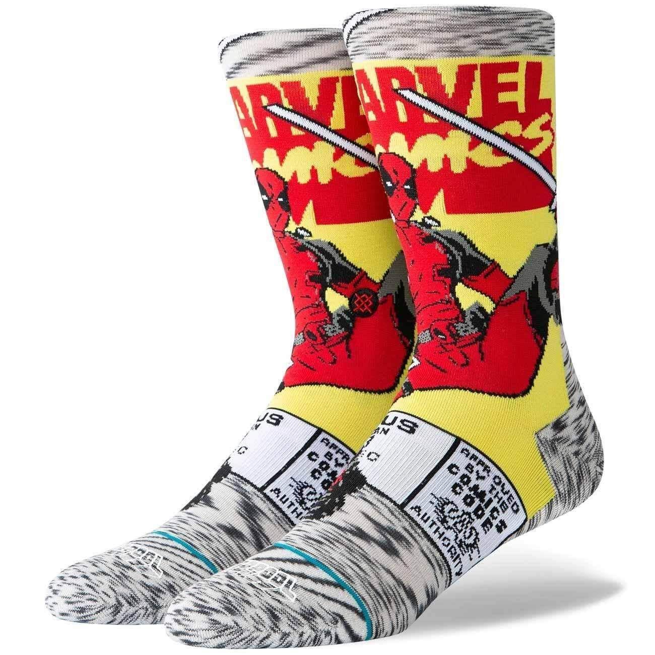 Photo of Stance Deadpool Comic Socks – Grey