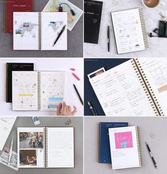 Weekly Planner [4colors] / Monthly Planner / 2020 Planner