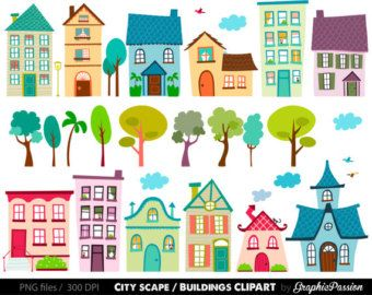 Pin By Ngoc Trinh Nguyen On Drawing And Painting In 2021 House Clipart Clip Art Cute House