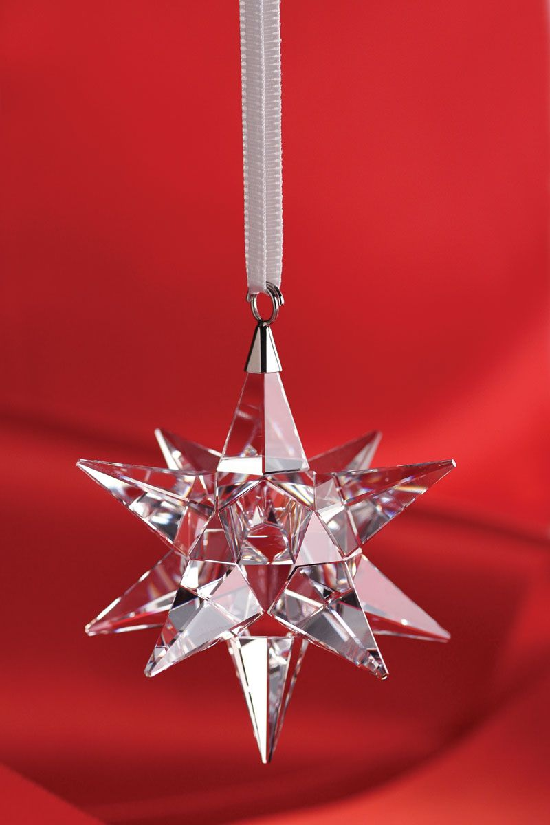 Swarovski Star Ornament 2014 | Swarovski crystal figurines ...