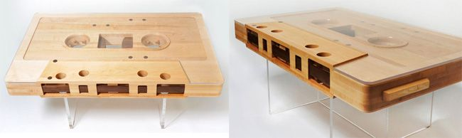 Designer Couchtisch Trend Holz Glas Bauhaus Shop Design Mbel Retro Futurismus Jugendstil Modern Contemporary